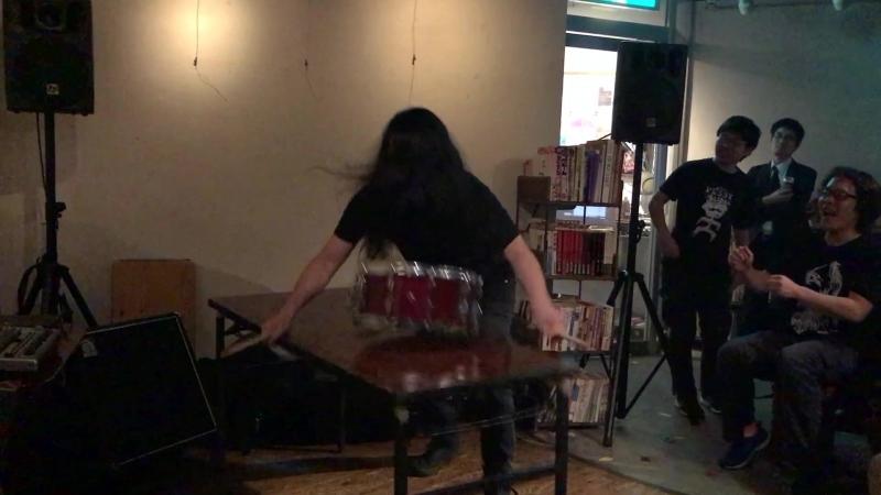Ryosuke Kiyasu live at Flying Teapot April 27 2018