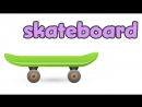 Toys in English for kids - Vocabulary for children
