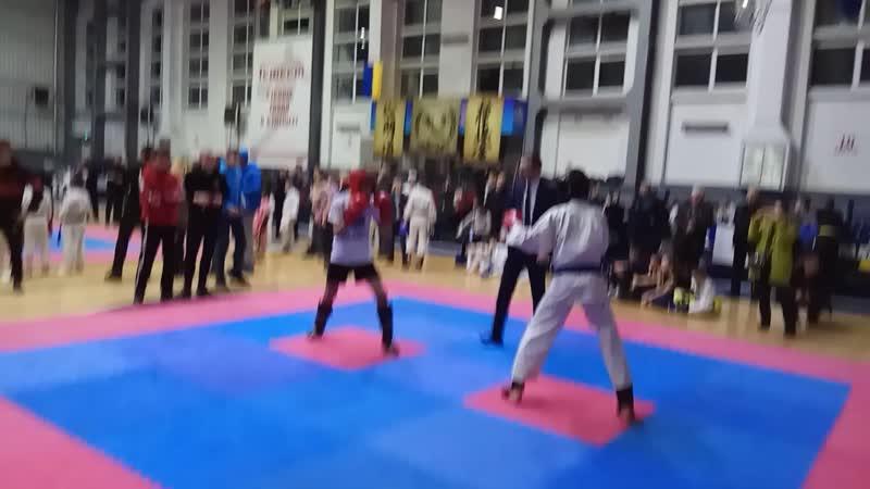 Золотарев М. 1 бой