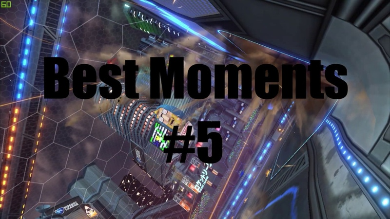 Rocket League|Best Moments5|,ceiling shot,Air shot,dribbles|Keyboard Player