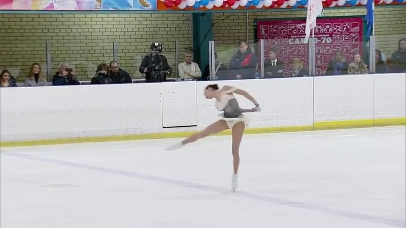 А Загитова A Zagitova SP 15th anniversary Khrustalny skating rink