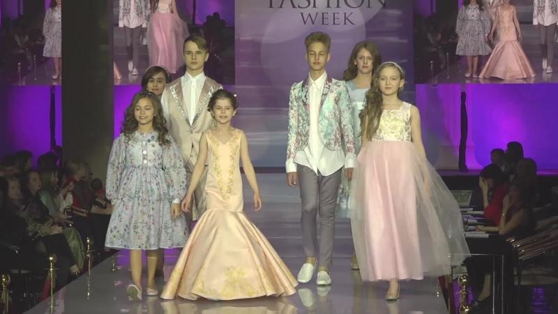 Модели агентства Linda Kids в XV сезоне Международной недели моды Estet Fashion Week