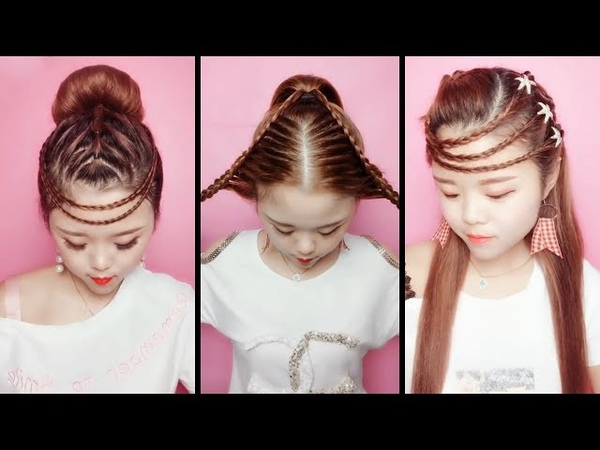 Top 10 amazing hairstyles ♥️ Hairstyles Tutorials ♥️ Easy hairstyles with hair tools 2