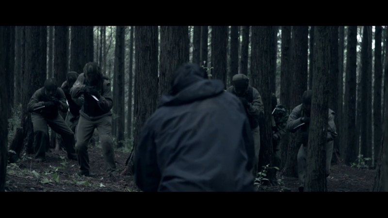 Резня в лесу (фильм Перерождение (Re:Born) 2016)