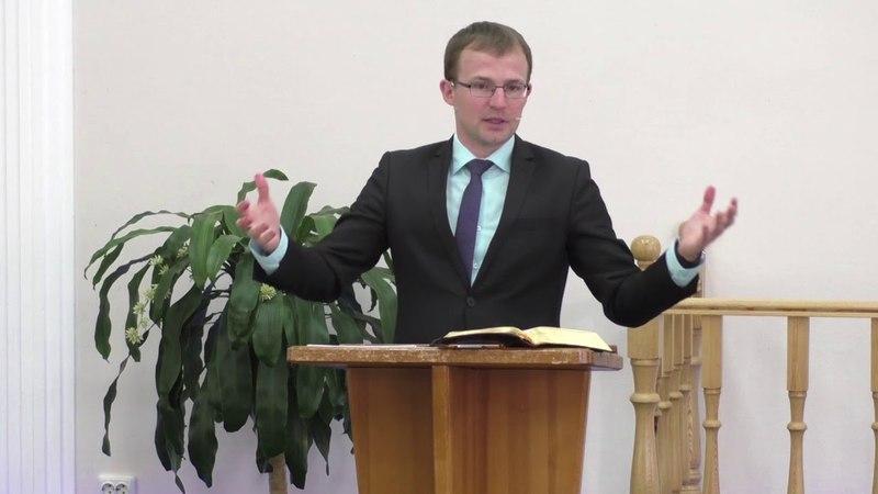 Проповедь: Евгений Скрипников (12.05.18.)