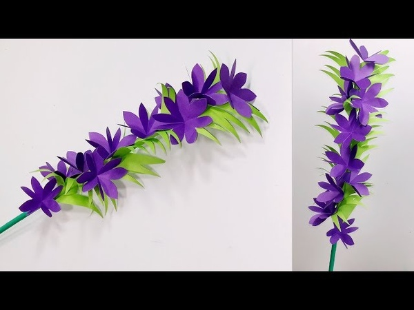 DIY Stick Flower Ideas with Paper Paper Craft Stick Flower Handcraft Flower Jarine's Crafty Creation