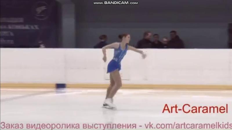 Ангелина Зубачева КП КМС 2 этап Кубка Санкт-Петербурга 2018