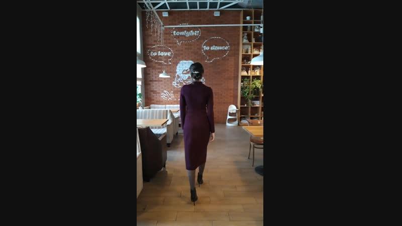 Платье футляр 💜✨