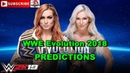 WWE Evolution 2018 SmackDown Women's Championship Becky Lynch vs Charlotte Flair Last Woman Standin