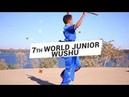 7th World Junior Wushu Championships July 2018 Brazil