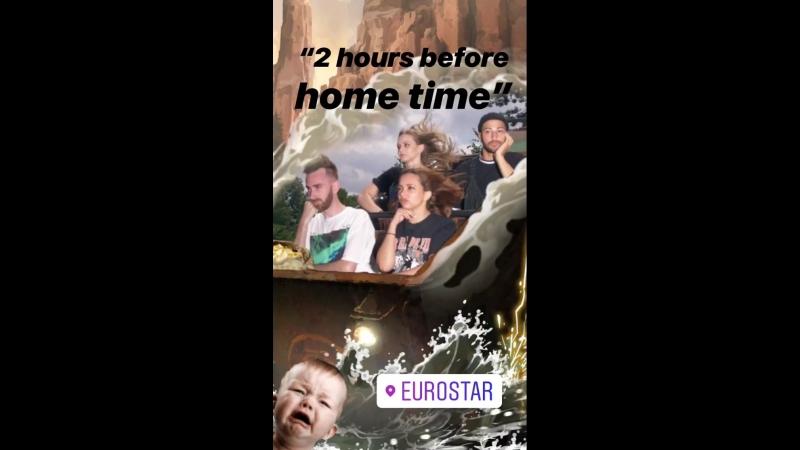 18.07.18   Джейд в «Instagram Stories» Эллиота Перкинса (Париж, Франция)