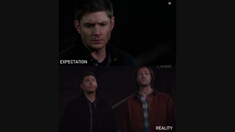 J2 TheWinchesters Expectation vs Reality Season12 SPN