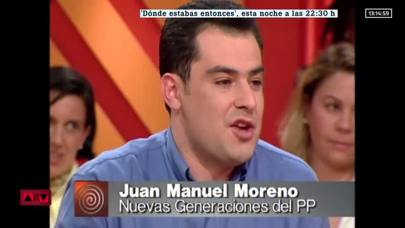 ARV Dónde estaba @JuanMa_Moreno en 1990 Nuestro equipo de documentación lo ha descubierto. Lo contaba hoy @_anapastor_ en @Debat