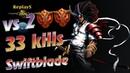 HoN replays - Swiftblade - Immortal - 🇳🇴 Jacka Diamond I
