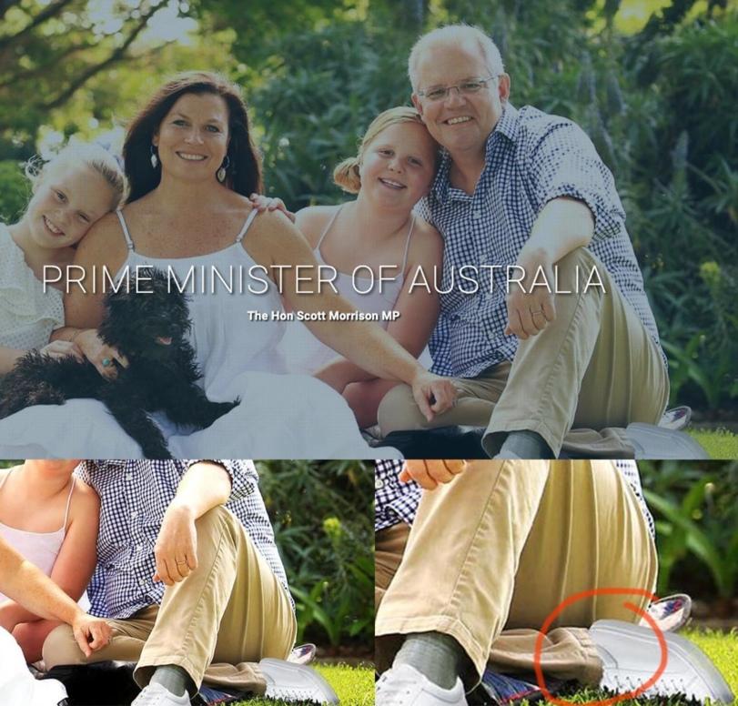 Две левых ноги премьер-министра Австралии