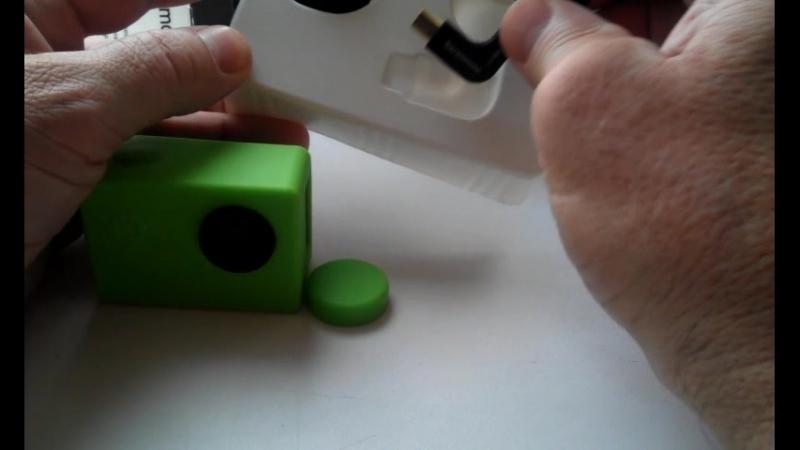 Чехол для камеры eken h9 и микрофон стерео для GOPRO.