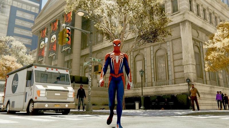 Открытый мир в новом трейлере Marvel's Spider-Man
