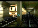 Баг 1. Хождение по тоннелю и открытие дверей на ходу. AG Subway Simulator Pro