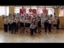 Юные гимназисты на фестивале - конкурсе Когда поют солдаты