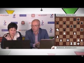 Суперфинал 2018 2 тур А.Боднарук - О.Грицаева + интервью (С.Шипов)