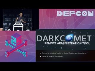 DEF CON 25 - Professor Plum - Digital Vengeance  Exploiting the Most Notorious C&C Toolki