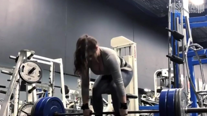 Kiki Vhyce workout 3 _ Spartan Bodybuidling