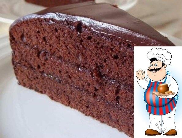 Простой пирог в микроволновке