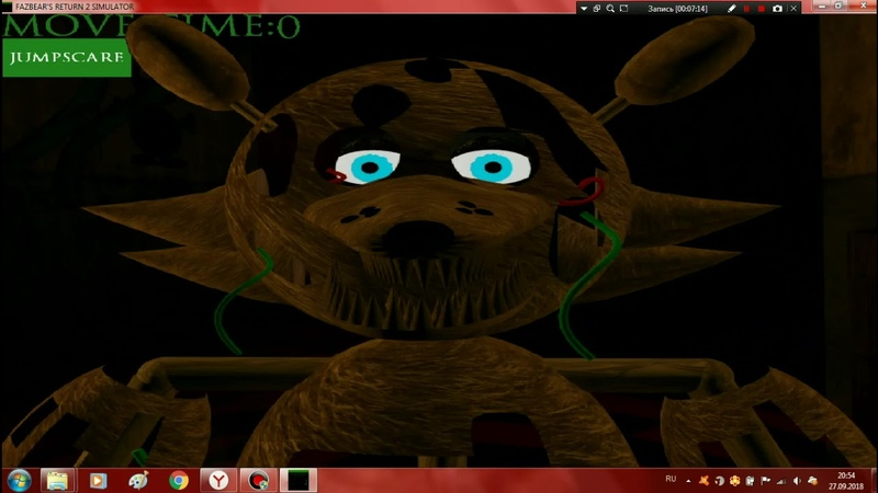 Играю в симуляторы Fazbears return Saga all animatronicsextras and mini game
