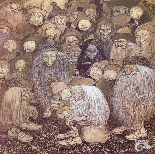 Теория о существовании цивилизации гномов Большинство современных людей, не верят многочисленным сказкам и мифам различных народов мира, которые рассказывают про отдельные расы людей, которые