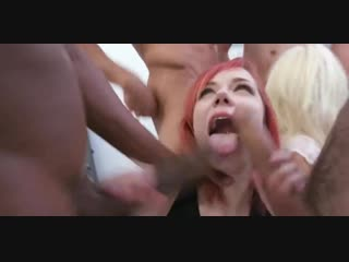 Kira roller anna ray dap fisting and eat cum from prolapse