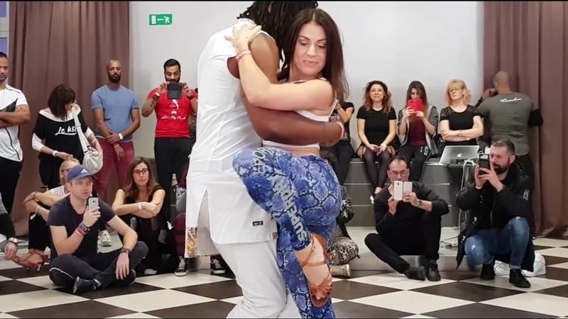 Jojo Victoria Fletcher (2) @ Kizombafro Rimini International Salsa Bachata Festival 2019