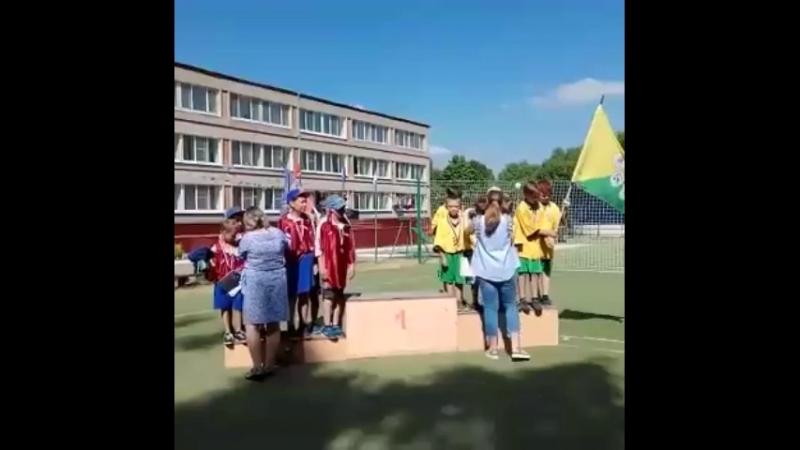 Наше ребята выиграли мини футбол ⚽️ в лагере Родина 🥇🥇⚽️⚽️