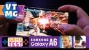 PUBG and TEKKEN на Samsung Galaxy A6 Plus Тест Игр