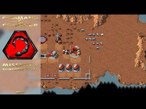 Command Conquer Tiberian Dawn - Nod Mission 9 - Reinforce Egypt [720p]