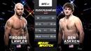 UFC 235 1 сезон Робби Лоулер VS Бен Аскрен