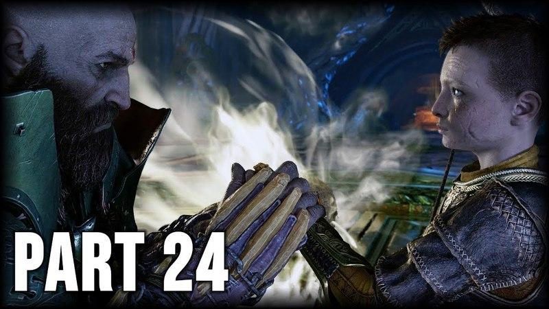 God of War 100% Walkthrough Part 24 PS4 The Black Rune