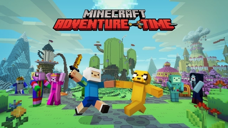 KITJOY Время Приключений Алмазы и Лимоны Спецвыпуск Adventure Time x Minecraft
