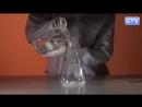 Пена из перекиси водорода и марганцовки - опыты