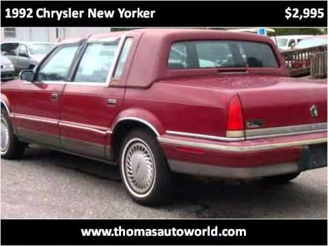 1992 Chrysler New Yorker available from Thomas Auto World