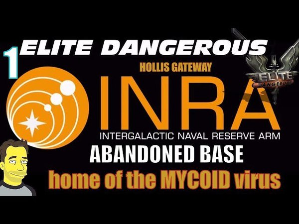 Elite Dangerous INRA base 1 Abandoned installation from the last Thargoid War