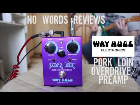 WAY HUGE PORK LOIN OVERDRIVE PREAMP TEST (GUITARBASS)