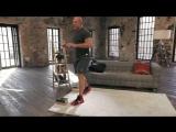 Упражнения для грудных мышц- глубокие отжимания - Домашние тренировки с Денисом
