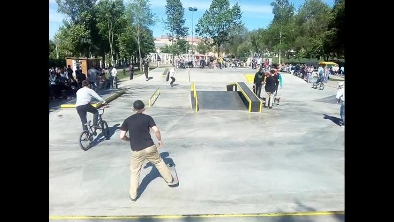 В Самаре открылся новый скейт-парк