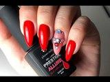 Как нанести красный цвет под кутикулуКак закрепить стразыRed Collection by Planet Nails