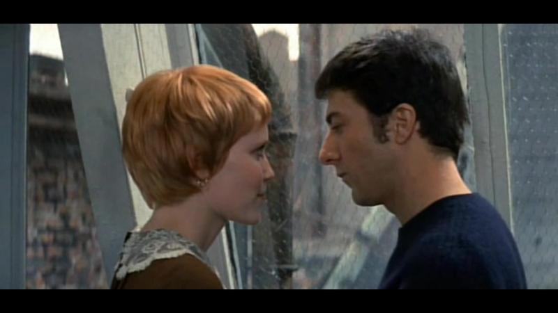 ДЖОН И МЭРИ (1969, 18) - мелодрама. Питер Йетс 1080p