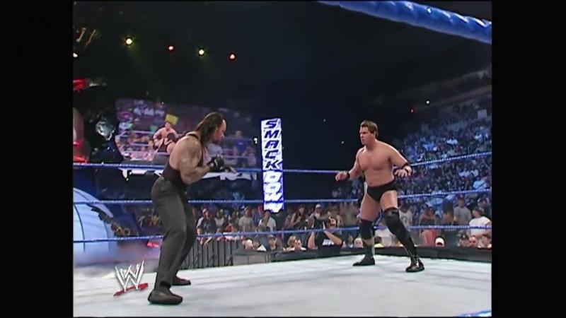 The Undertaker vs. JBL SmackDown 2005