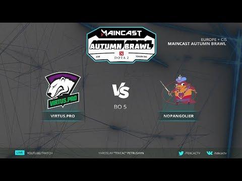 🤠Гранд-финал [RU] Virtus.pro vs NoPangolier | Bo5 | Maincast Autumn Brawl by @Tekcac