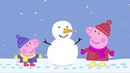 Peppa Pig English Episodes | Snow Day! Peppa Pig Official