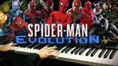 Spider-Man Evolution Piano Mashup/Medley Piano CoverSHEETSMIDI
