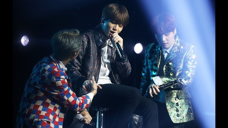 BTS shows their LOVE for Jungkook on STAGE as he couldn't dance due to his INJURY BTSinLondon
